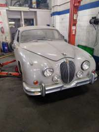 1960's 2.4 litre Mark 2 Model Jaguar