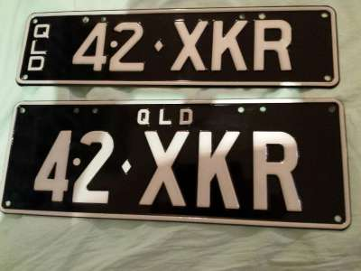 Qld Personalised Number Plates