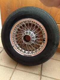 Wire wheels for Series 1 E-Type