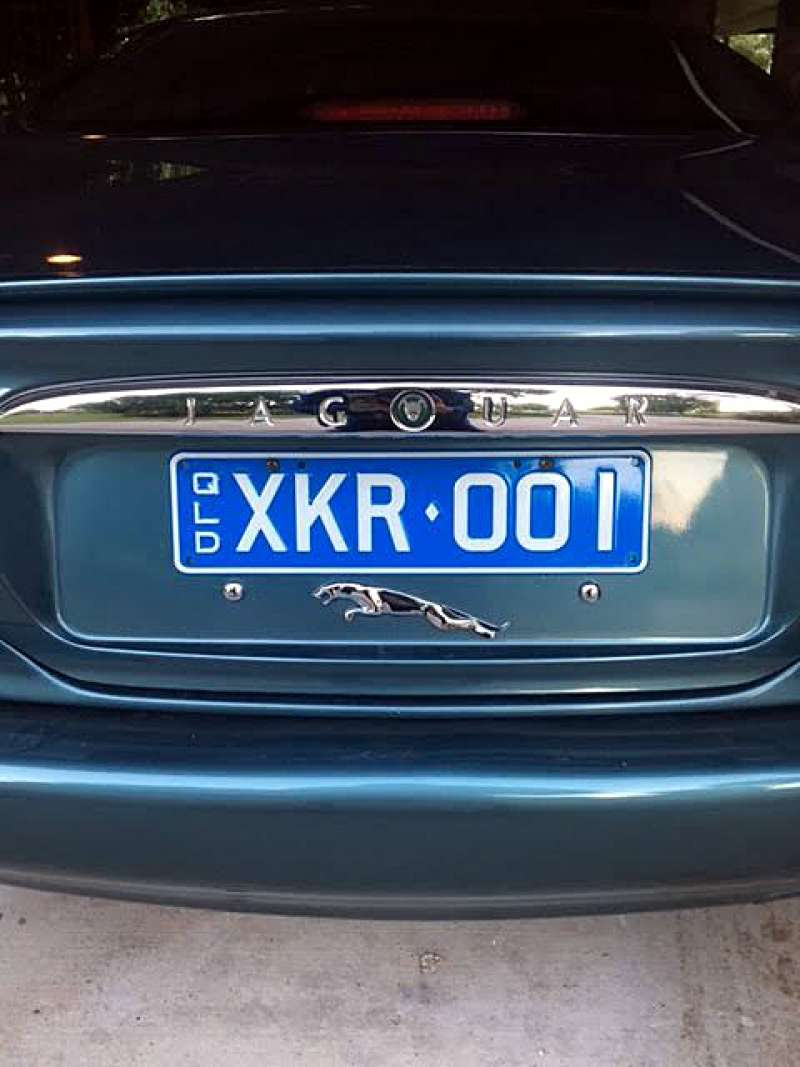 XKR Personalised Number Plates