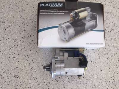 4.2L Jaguar engine starter motor
