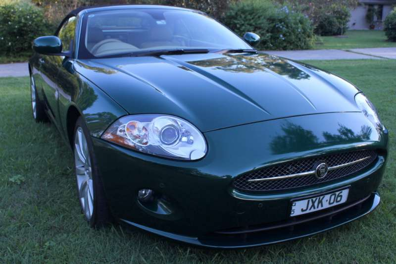 2006 Jaguar XK (X150) Convertible