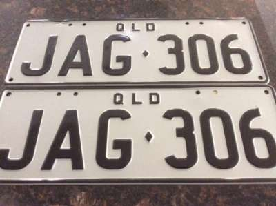 Personal Qld Number Plates